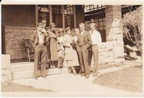 Photo of JOHN RODERICK MCPHERSON– From left to right: Jack (John), Minto, Aileen, Lorraine, Helen, Phylis, Charles and Allen. Submitted for the project, Operation Picture Me