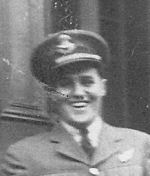 Photo of Ernest Simpson– Simpson enlisted in the RCAF in 1940. After training he embarked for England on the SS Vancouver. She was torpedoed by U-558 in mid-Atlantic. Ernie is commemorated on the Ottawa Memorial.