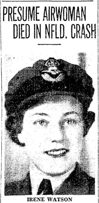 Newspaper clipping– For the Toronto Star July 1944. Submitted for the project Operation Picture Me