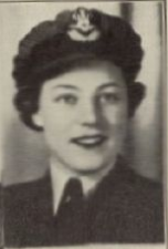 Photo of IRENE WATSON– In memory for the students from Mimico (Ontario)) High School who went to war and did not come home. Submitted for the project, Operation: Picture Me
