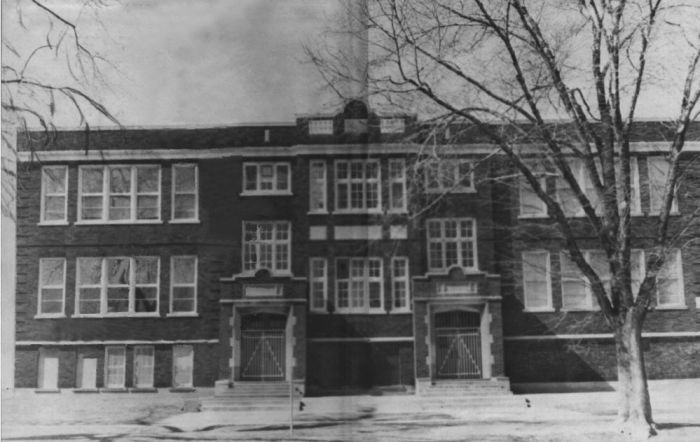 School– In memory for the students from Mimico (Ontario)) High School who went to war and did not come home. Submitted for the project, Operation: Picture Me