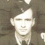Photo of Ralph Battler– Ralph Battler (Kitchener, Ontario) was a crew member of the Halifax PT-U that crashed near Church Fenton, Yorkshire, on 5 March 1945.