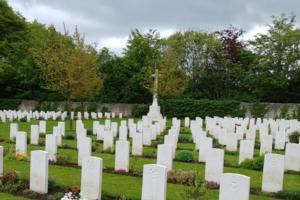 Cemetery– Harrogate (Stonefall) Cemetery - May 2019 ... photo courtesy of Marg Liessens