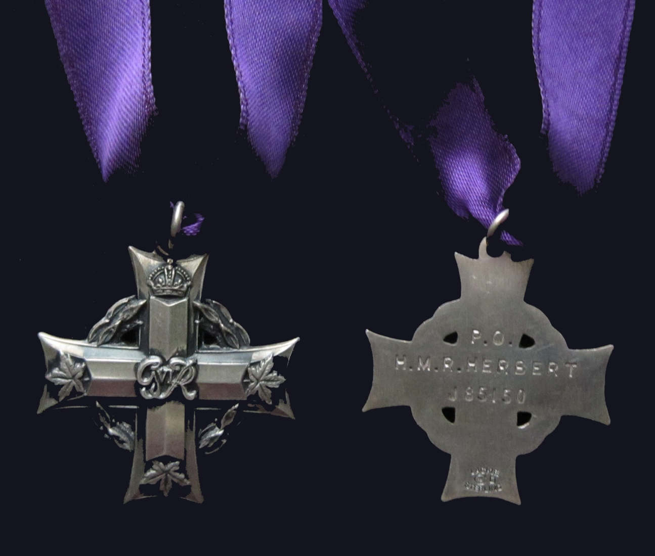 Medal– Memorial Cross for HMR Herbert