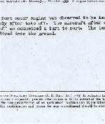 Report of accident (page 4)– This is the official report page 4.  Source:Whitehouse via Archives Canada