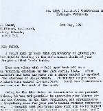 Letter– The commanding Officer wrote this letter to the parents of Athol Lunan, the WAG of this aircrew.  page 1  Source:Whitehouse via Archives Canada