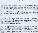 Lettre (page 2) – Source: Whitehouse par l'intermidiaire d'Archives Canada.