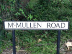 McMullen Road– A road in England was named after William Stuart McMullen