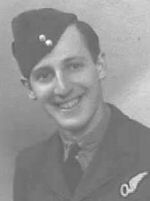 Photo of HOMER LEROY MUISINER– F/S Homer L. Muisiner RCAF of Kane, Pennsylvania, U.S.A. was killed at the age of 23 while on active service with No. 1664 Heavy Conversion Unit when his Handley Page Halifax Mk V (EB203) crashed in bad weather near Bishop Monckton,  North Yorkshire, England on April 15, 1944.