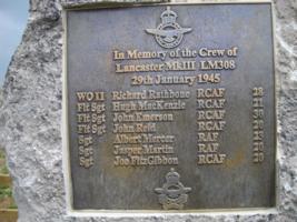 Memorial– Memorial in Hoveringham England, May 2010