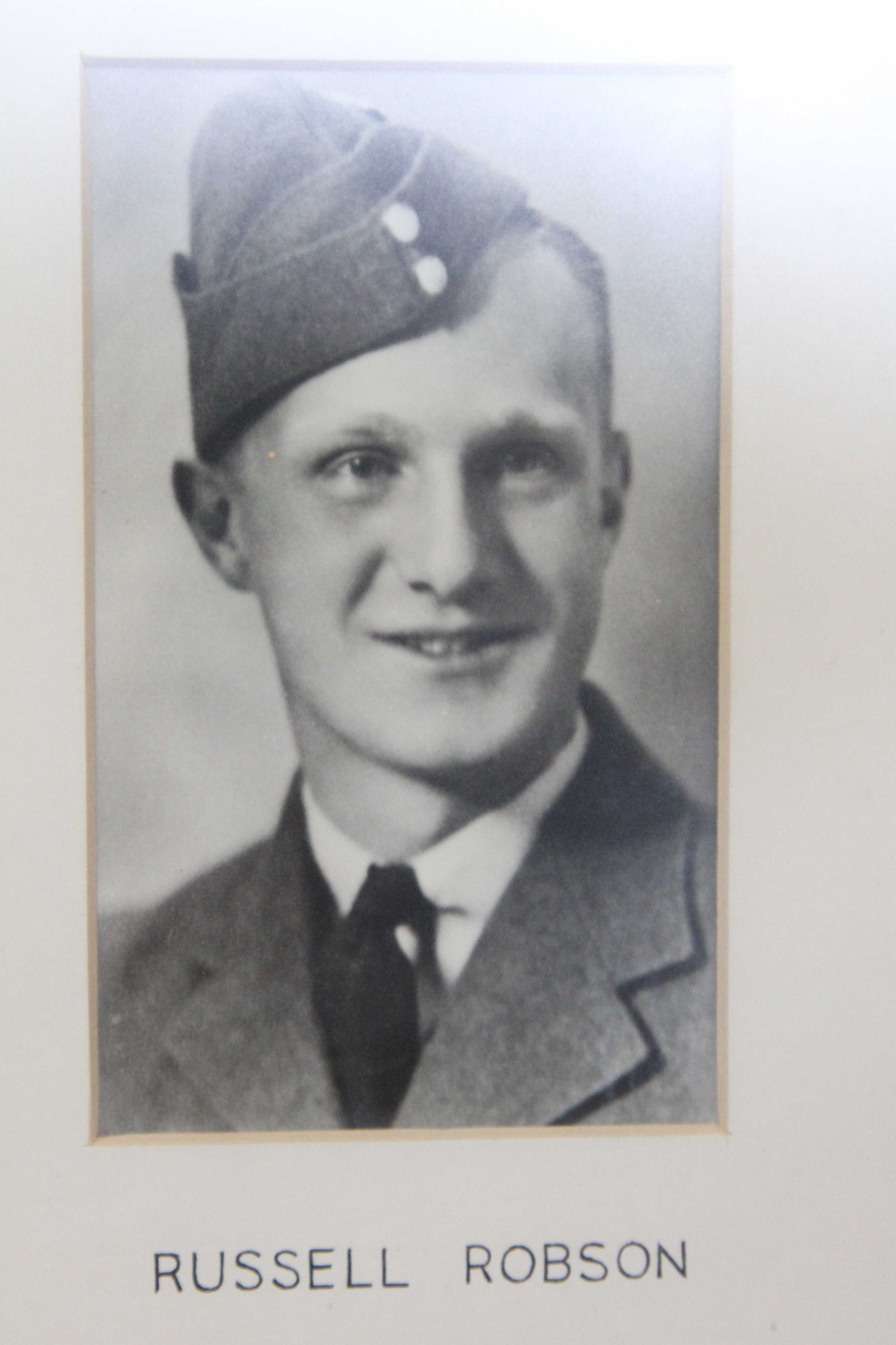 Photo of ALBERT RUSSEL ROBSON– In memory of the students from the Vaughan Road Collegiate Institute  (Toronto) who went away to war and did not come home. Submitted for the project, Operation Picture Me