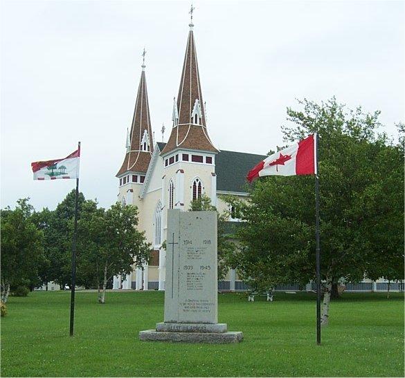 Miscouche War Memorial