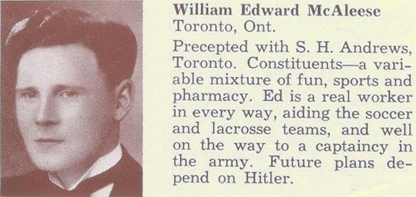 Photo of William Edward McAleese