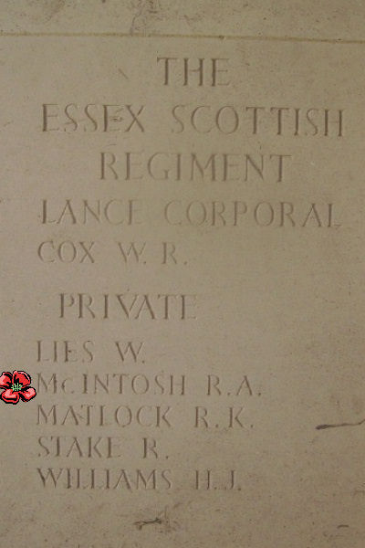 Other– Inscription - Bayeux Memorial … photo courtesy of Marg Liessens