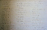 Inscription– Panel on the Bayeux Memorial to the Missing.