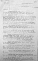 Letter– Letter from the Mayor of Noyers-Bocage with details of Mahagan's death. Page 1.  Library and Archives Canada.  Ottawa.