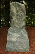 Monument– Museum erected at crash site at Rijsoord, Holland in September 2002.
