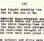 Letter - October 1, 1944 (Page 3 of 3)– page 3 of 3-page letter from R.L. McBride to friend Beattie in Oct 1944