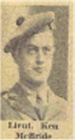 Newspaper Clipping– Newspaper report of heroic efforts of Ken and other B.C. soldiers in the Italian campaign
