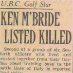 Vancouver Sun Newspaper– Article from Vancouver Sun newspaper after he was killed.