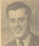 Newspaper Clipping– Newspaper clipping of Ken commissioned as an officer.