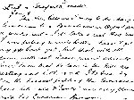 Letter– page one of letter from Ken McBride to his mother in Italy in January 1944