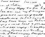 letter– pages 2 and 3 of January 1944 letter from Italian campaign from Ken McBride to his mother Win McBride.