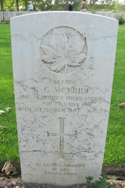 Grave Marker– Grave marker - Coriano Ridge War Cemetery - May 2013