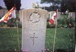 Grave marker for J.J. Mcinnis