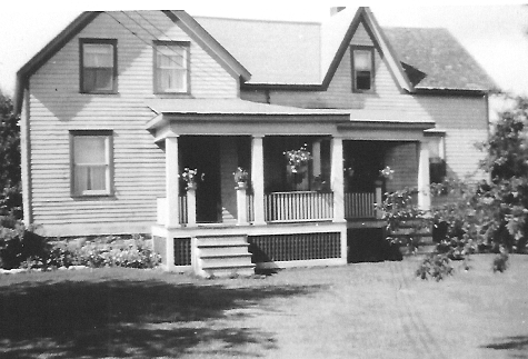 Otto McIntee's family home.