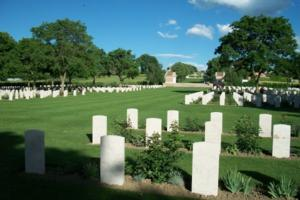 Cemetery– Coriano Ridge War Cemetery, Italy - May 2013 … photo courtesy of Marg Liessens