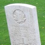 Grave Marker– Photos taken during RCR and Signallers Op Husky Battlefield Tour October 2010. (Richard,Thomson.Holsworth,Nolan)