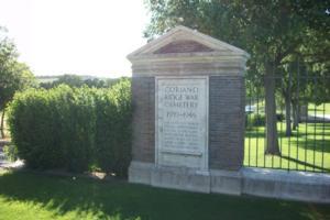 Cemetery– Coriano Ridge War Cemetery, Italy - May 2013 … photo courtesy of Marg Liessens