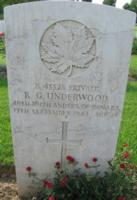 Grave marker– Coriano Ridge War Cemetery, Italy - May 2013