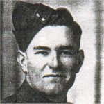 Photo of George Alfred Maguire– Enlisted in the Canadian Fuisliers in 1942, went oversears with the Essex Schottish, wounded in action in France, and died on the Lady Nelson while returning to Canada.