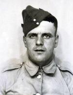 Photo of John Melenchuk– Photo of John Melenchuk in his Second World War uniform.