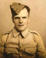 Photo of John Melenchuk– John Melenchuk WWII portrait, son of Nickolas and Mary.