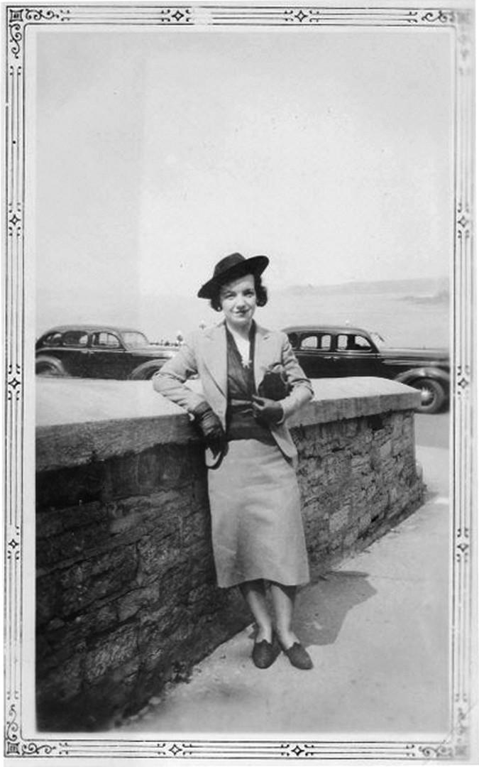 Photo de Anette Ouellet – Anette Ouellet, décédée en 1943.