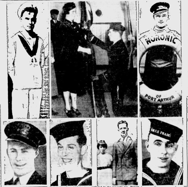 Newspaper Clipping– James: bottom row 2nd from left. From the Saskatoon Star-Phoenix. Submitted for the project, Operation: Picture Me