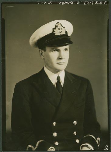 Photo of Derrick Ridge– Lieutenant (E) Derrick Ridge courtesy McGill University archives
