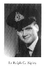 Photo of Ralph Ripley– From:  University of Toronto Memorial Book Second World War 1939-1945.  The book was published by the Soldiers' Tower Committee, University of Toronto.   Submitted with permission, by Operation Picture Me.