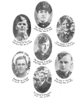 Roll of honor– In memory of the students from Lunenburg Academy who went to war and did not come home. Submitted for the project, Operation Picture Me