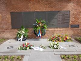 Memorial– On the city hall in Drunen he is also remembered