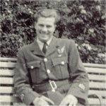 Photo of William Adrian Good– Peter Ager was my father's older brother and was killed on the same mission as Goody. (Peter was in the RAF but served in 434 Squadron, RCAF