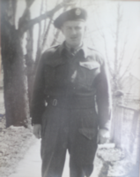 Photo of JAMES HILLIARD MCATEER– In memory of men and women from the Ravenna Ontario area that went off to war and to those who did not come home, they will never be forgotten. Submitted for the project, Operation Picture Me