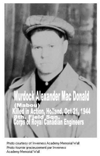 Photo of Murdock MacDonald