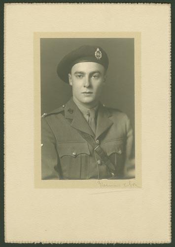 Photo of Alexander Carron Scrimger– Capt Alexander Caron Scrimger courtesy McGill University archives