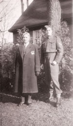 Group Photo– Garfield Stevenson and his father, Newton Stevenson