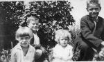 Group Photo– Childhood picture of Dorothy, Garfield, Marjorie, and Theodore Stevenson