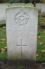 Grave Marker– Photo courtesy of Frans van Cappellen, Putten, The Netherlands.